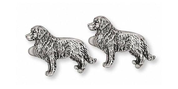 Golden Retriever Jewelry Golden Retriever Cufflinks Jewelry Sterling Silver Handmade Golden Retriever Cufflinks GR15-CL
