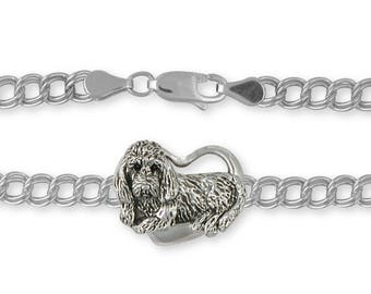 Pbgv Petit Basset Griffon Vendeen Charm Jewelry Silver Handmade Dog Charm GV2-C