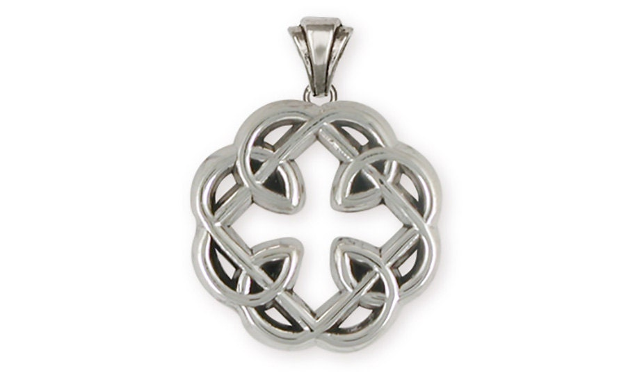 Celtic Knot Jewelry Father And Daughter Pendant Handmade Etsy