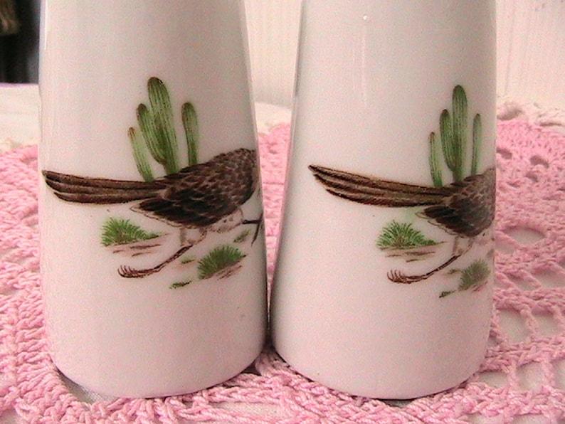 Salt and Pepper Shakers Vintage Ceramic Pheasant Salt and Pepper Shakers Japan