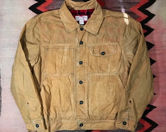 d82604229715c 90's Filson Short Lined Cruiser Jacket Made in USA Seattle Size M 1990s Soy  Wax Cruiser Jacket