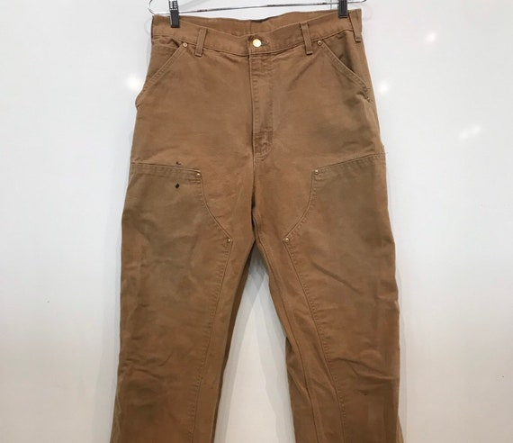 Vintage Carhartt Double Knee Work Pants VTG Distre