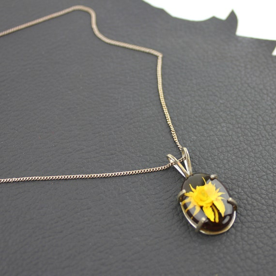 Scorpion Shaped Flower Necklace