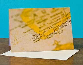 "Perth, Western Australia greeting card 5"" x 7"" (12.7cm x 17.8cm) close up photography"