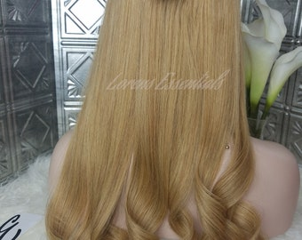 "Halo European Human Hair Extensions. Wire Human hair,Flip in hair extensions  20"" Ready to ship. 100G"