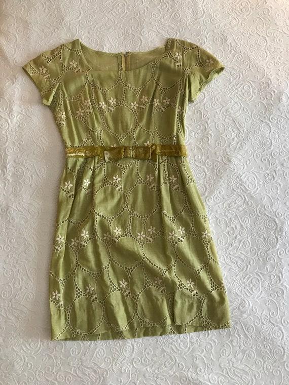 Nat Kaplan Designer Green Dress