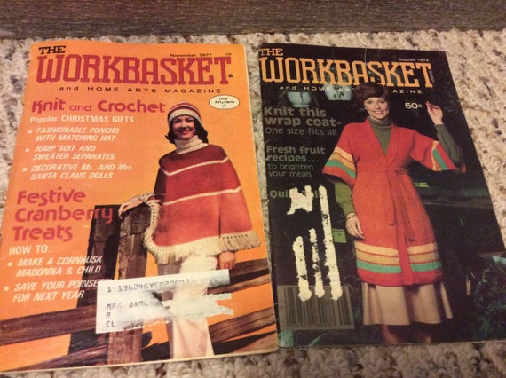 The Workbasket Magazine Volume 43 Small Lots Home Arts Etsy