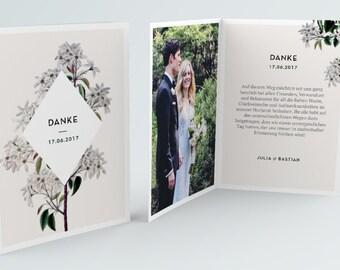 Thank you card to print out. Vintage | PDF