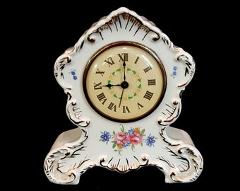 Lux Wind Up Clock Etsy
