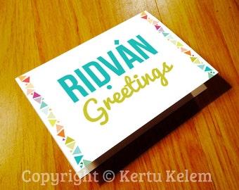 "BAHA'I Greeting Card ""Ridvan Greetings"""