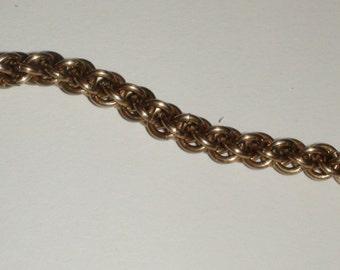 Custom length JPL brass chain by the Inch