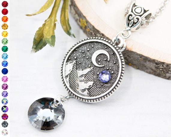 Wicca Celestial Pagan 5 x Round Silver Plated Sun Moon Face Charm Pendants
