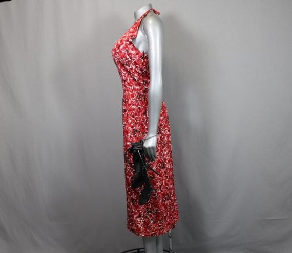 Free Shipping USA  Sizzling Sexy 40's Red Halter S