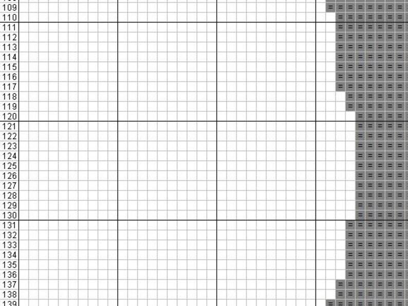 No.97 MJ/'s Dance PDF pattern Counted cross stitch