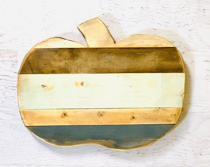 Handcrafted Pallet Wood Pumpkin - Hello Fall / Autumn Decor