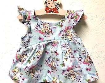 Disney Dress Toddler/ Disney Baby/ Disney Outfits for Girls/ Disney Princess Dress/ Disney Shirts/ Minnie Mouse Dress/ Tinkerbell Shirt