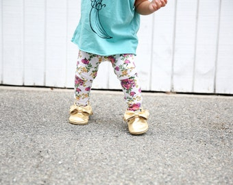 Floral Baby Leggings/ Toddler Leggings/ Baby Girl Clothes/ Newborn Girl/ Baby Pants/ Newborn Leggings/ Baby Girl Leggings/ Baby Gift