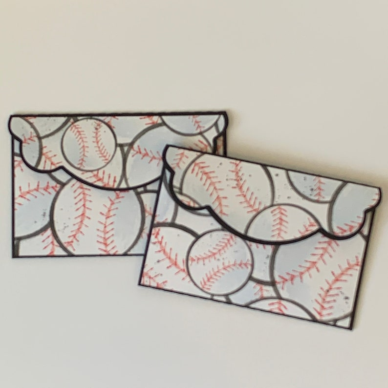Gift Card Holders Card Holders Baseball Gift Birthday Gift Thank You Gift Gift For Coach Thank You Coach Gift Baseball Money Holder