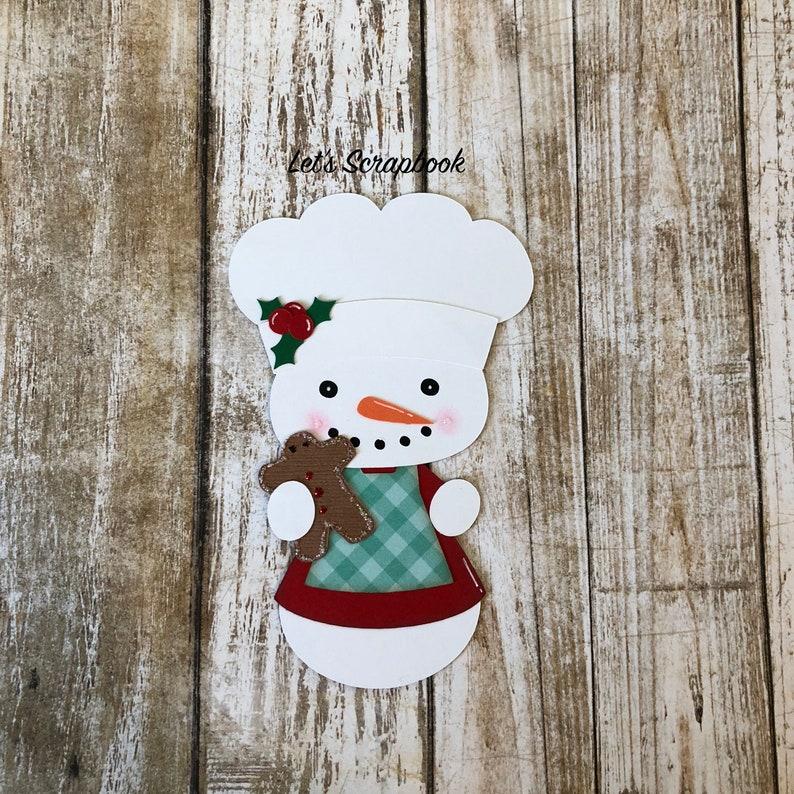 Christmas Eve Scrapbook Embellishment Die Cut Card making Piecing