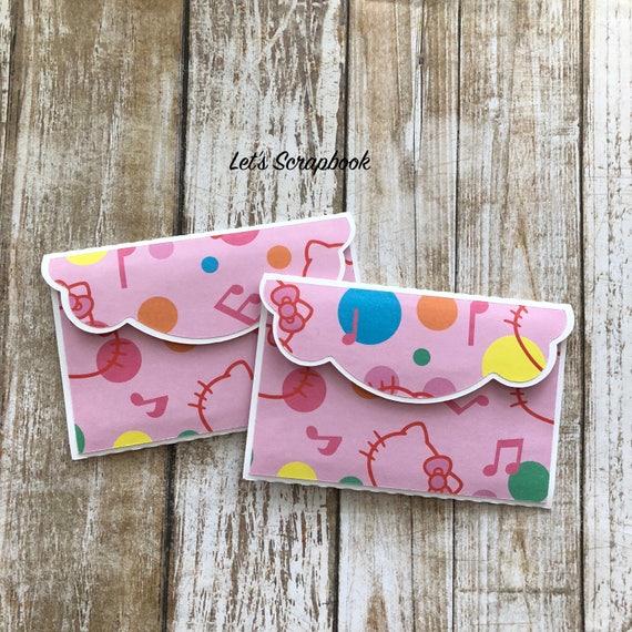 Gift Card Holders Hello Kitty Gift Birthday Card Holders Etsy