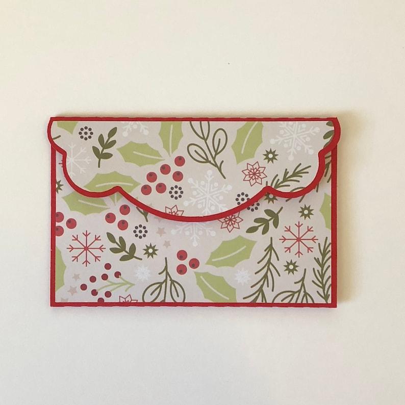 Christmas Gift Card Holder Gift Card Holders Handmade Gift Etsy