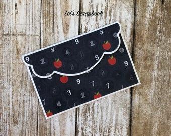 Teacher Gift Card Holder, Thank You Card, Teacher Gift, Thank You Gift, Teacher Gifts, Math Teacher Gift, Card Holder, Cards, Teacher