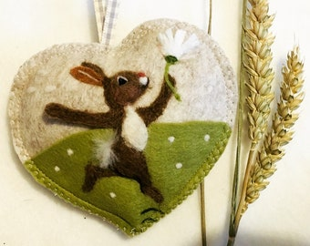 Dancing Daisy  Bunny Rabbit #FREE SHIPPING Personalised Rabbit, personalized Bunny