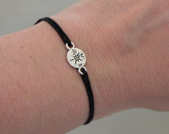 Compass Cord Bracelet