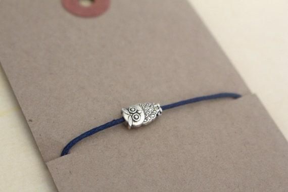 Owl String Bracelet