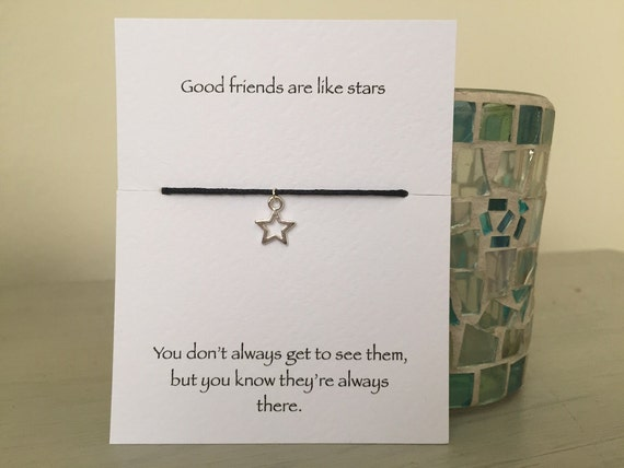 Silver Star Friendship Bracelet