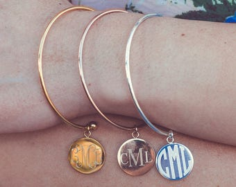 Bridesmaid Gifts |  Bridesmaid Bracelets | Personalized Gifts | Monogram Jewelry | Monogram Bracelets | Weddings
