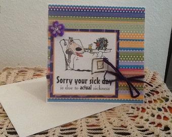 Get Well Soon  Card GW06