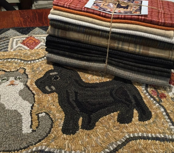 "Wool Pack for Sherlock and Watson, 30"" x 36""  WP104"