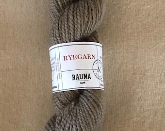 Norwegian Wool Rug Yarn, Rauma Ryegarn, Mushroom Taupe  #511