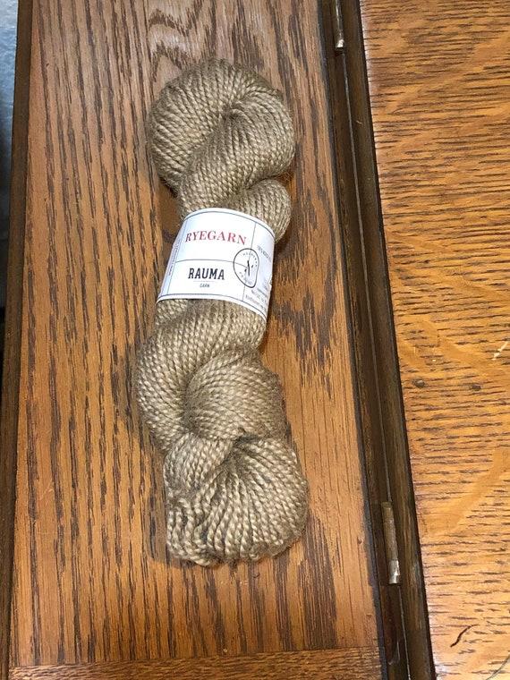 Norwegian Wool Rug Yarn, Rauma Ryegarn, Camel  #514