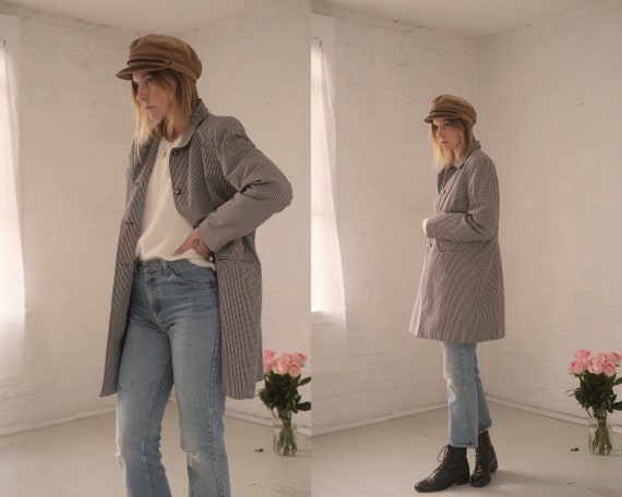 Gingham Raincoat