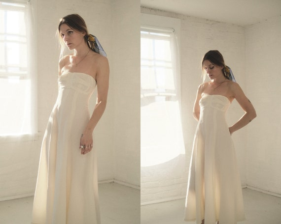 50s Ivory Gown