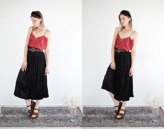 90s Velvet Skirt