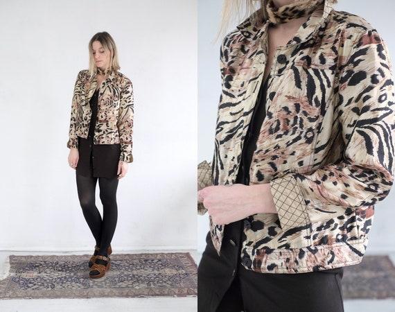 Silk Leopard Jacket