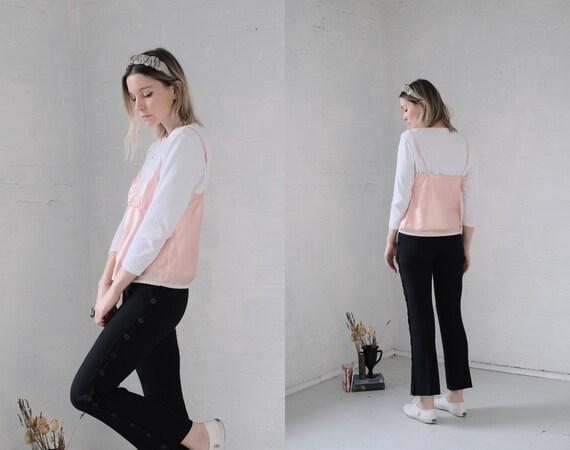 Satin + Lace Camisole - image 5