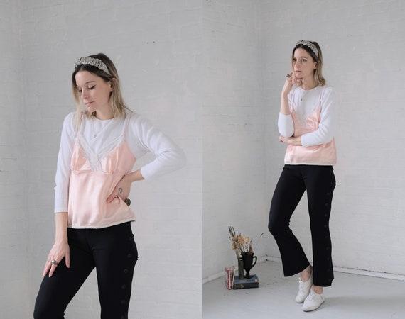Satin + Lace Camisole - image 2