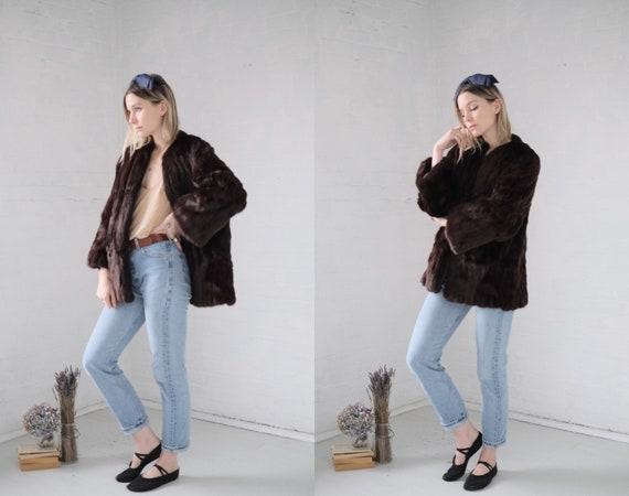 Mid Century Fur Coat