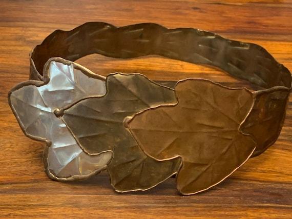Metal Belt - Mixed - Leaves - Bohemian - Natural -