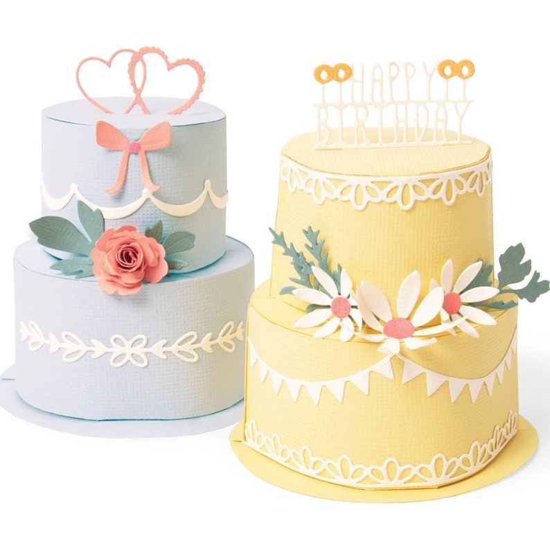 Cake Pop-Up Sizzix Thinlits Plus Dies 664356