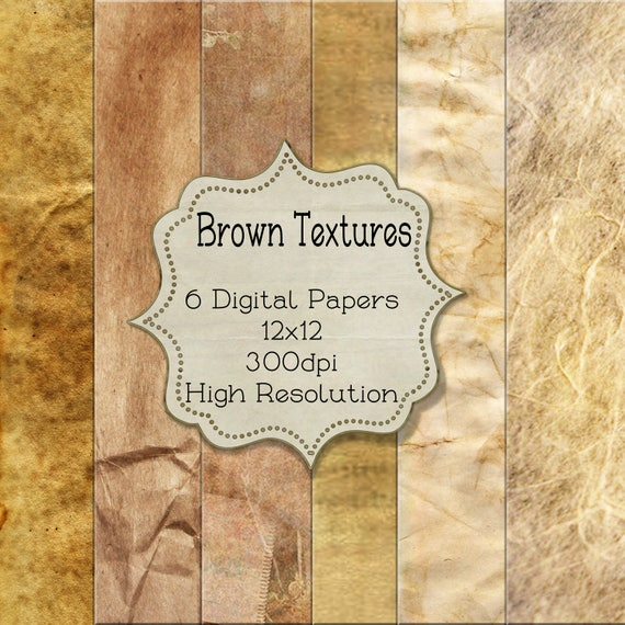 photograph about Printable Textures called 12x12 Printable Brown Texture Sbook Papers, Textures Record 12x12 Inch Sbook Papers, Electronic Paper, Electronic Paper Packs Kits