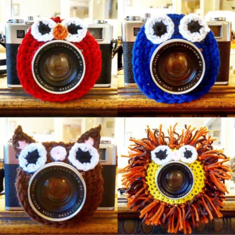 Crochet Photography Camera Buddies image 0