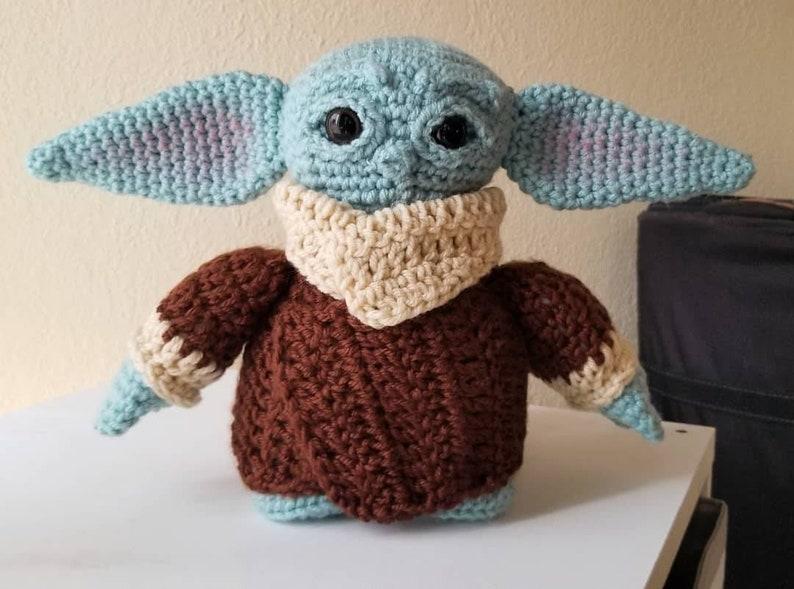 Made to Order Crochet Inspired Doll FanArt Handmade image 0