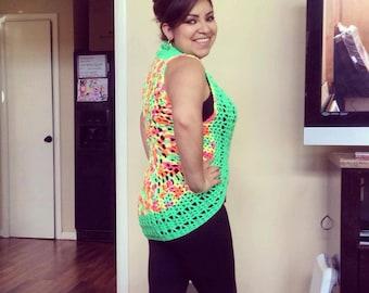 Crochet Pattern Fun Fit Vest