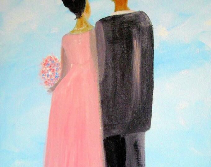 Featured listing image: BeautifulBond - Modern Art Print 8x10