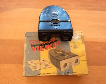 Brumberger Vintage Stereo Viewer, Stereo Slide Viewer, Battery Operated Slide Viewer, Vintage Photographs Photography